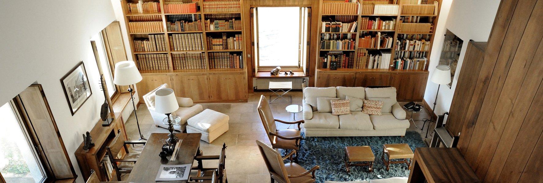 Bibliothèque de Barjeantane © Dominique Laugé