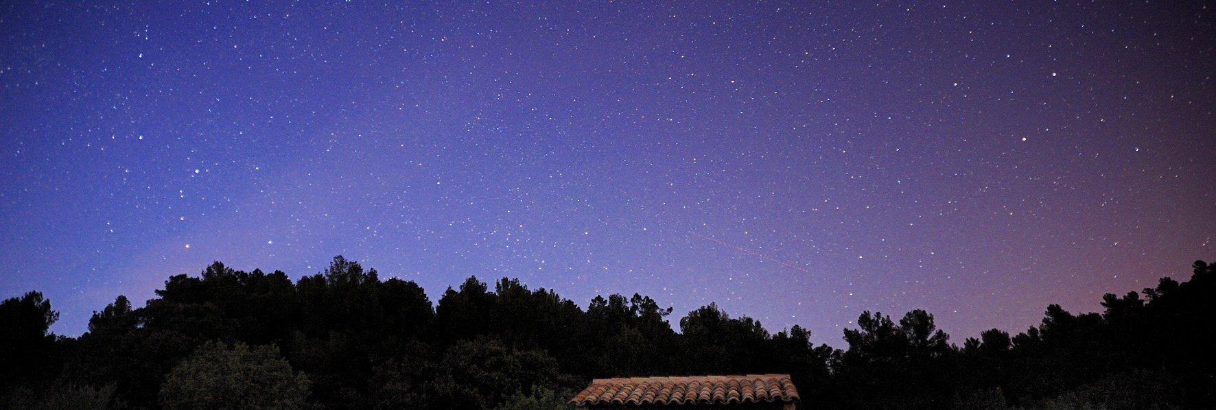 Ciel et observatoire © Dominique Laugé