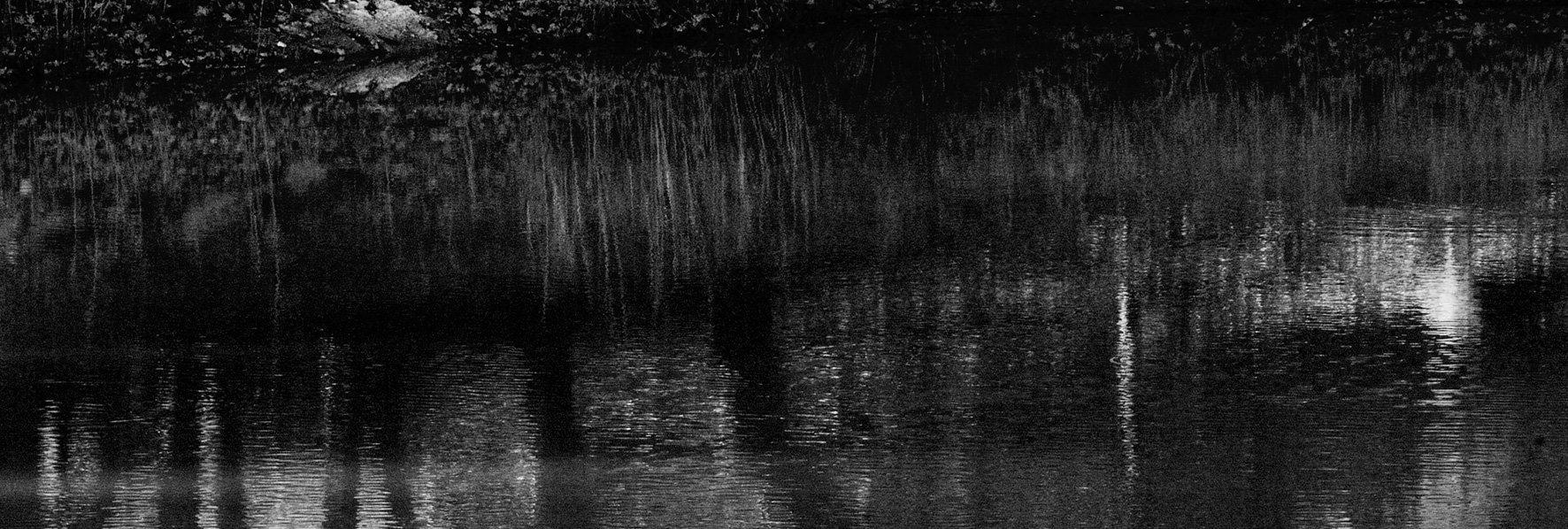 Reflet dans le lac du bas © Dominique Laugé