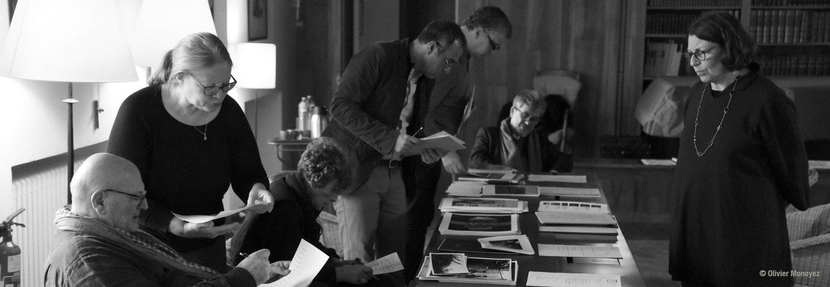 Réunion du Jury photo, janvier 2020