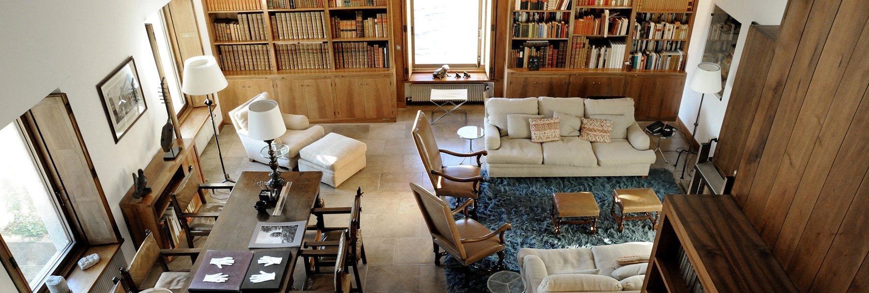Bibliothèque © Dominique Laugé